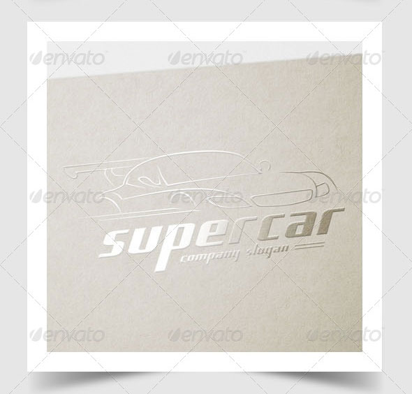 Super Car Logo