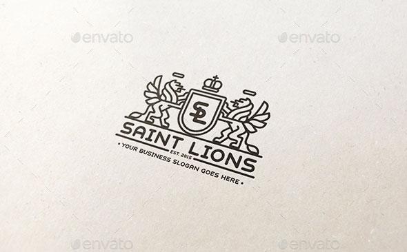 Saint Lions Logo