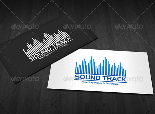 Sound Track - Logo for Business