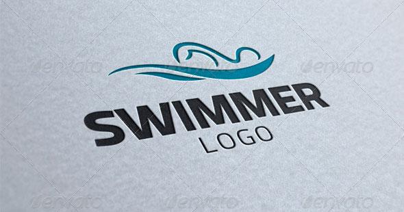 Swimmer Logo