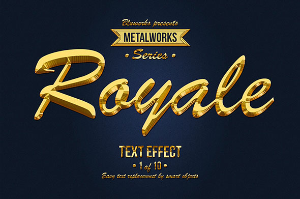 Metalworks - Metallic Text Effects