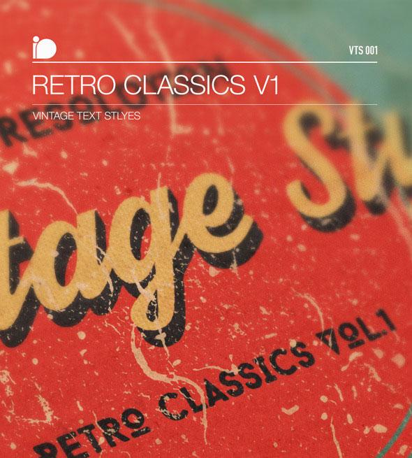 Vintage Text Styles • Retro Classics V1