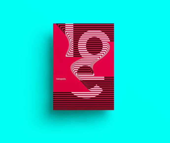 Poster by Xavier Esclusa Trias / LOVE / Twopots