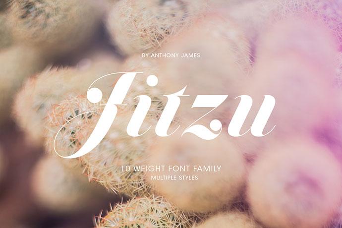 Jitzu Family | Free Font