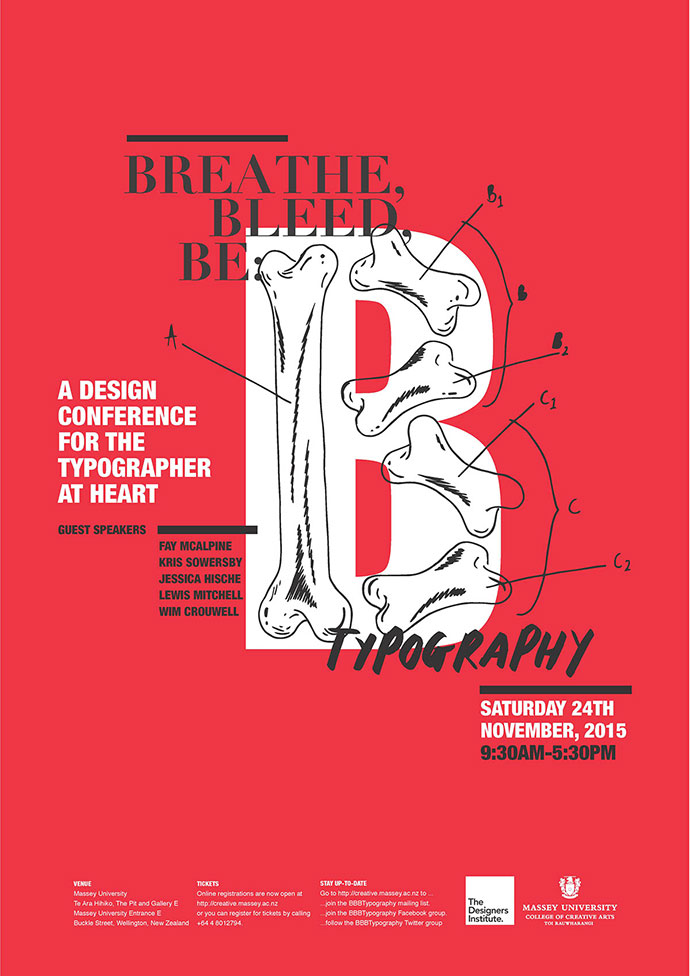 Breathe, Bleed, Be: Typography Conference