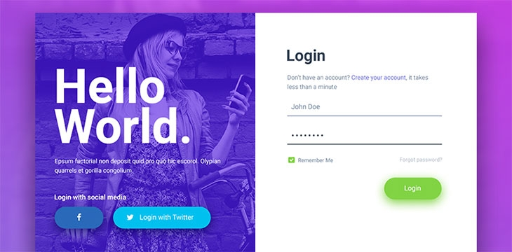 50 Beautiful Web & Mobile Form Designs