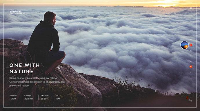 Viewpoint - Fullscreen Photography WordPress Theme