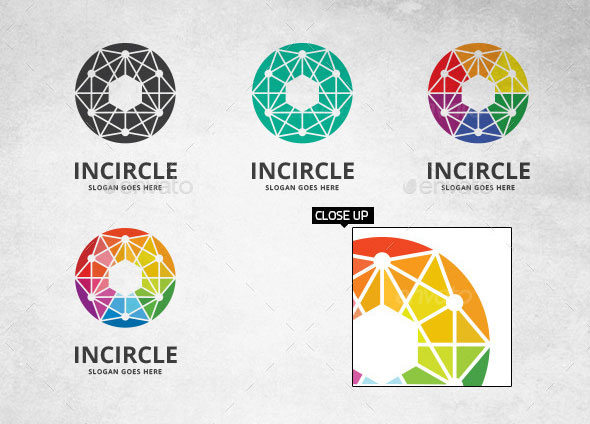 Circle Connection - Logo Template
