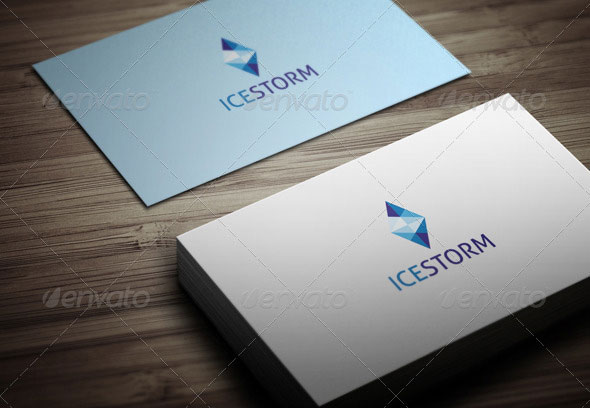 Ice Storm Logo Template