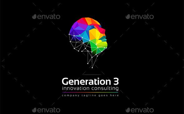 Generation 3 logo template