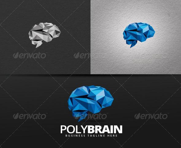 Poly Brain Logo
