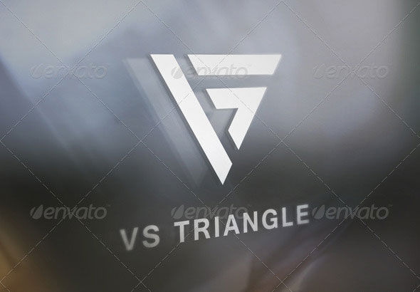 VS Triangle Logo