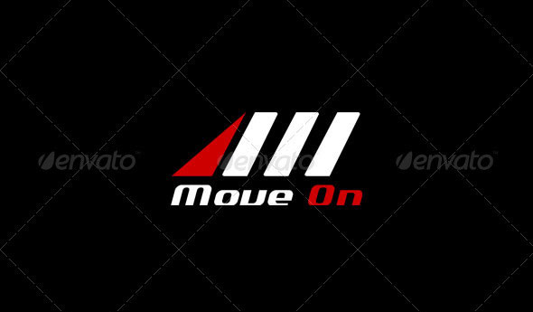 Letter M Logo Template - Move On