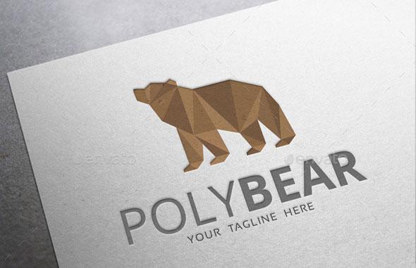 Poly Bear Logo