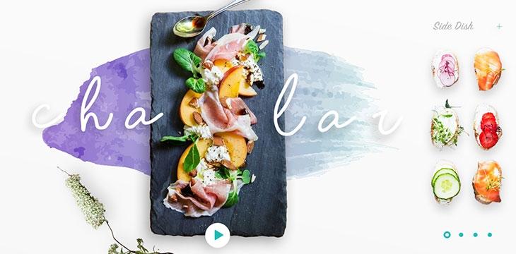 25 Tasteful Web UI Concepts For Restaurant