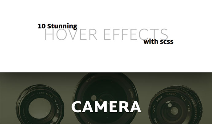10 stunning hover effects with scss