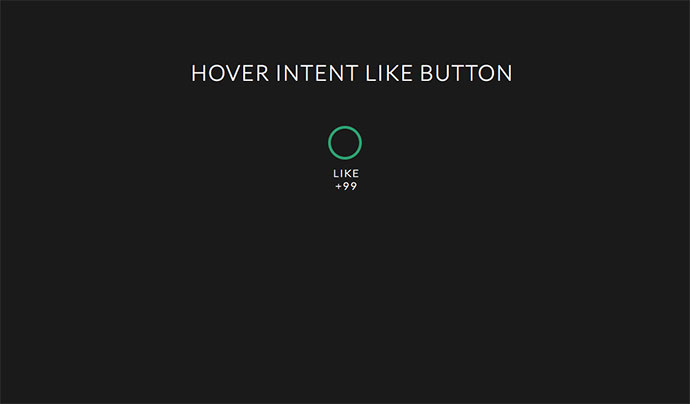 Hover Intent - Like button
