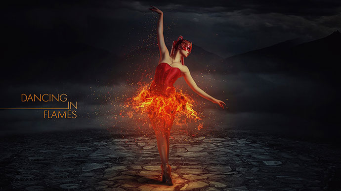 Dancing in Flames