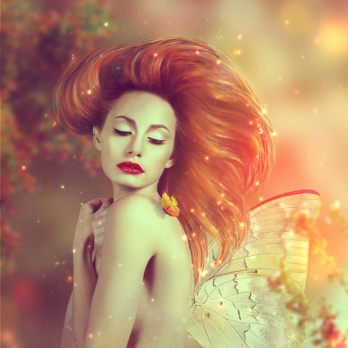 Fantasy Fairy Photo Manipulation