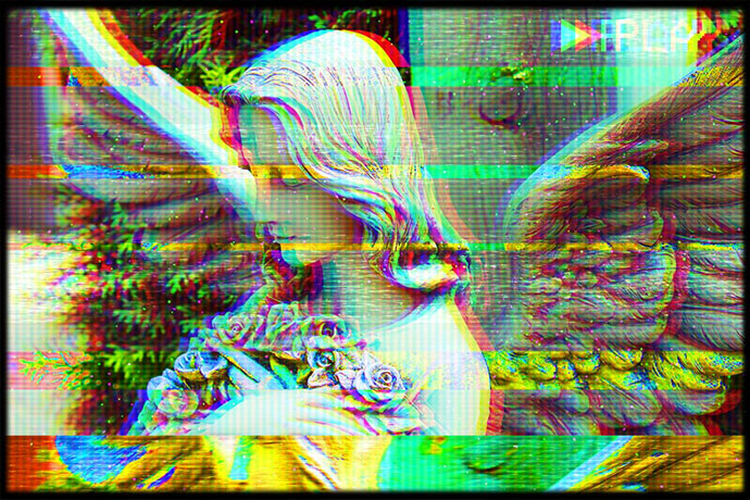 Create VHS Glitch Art