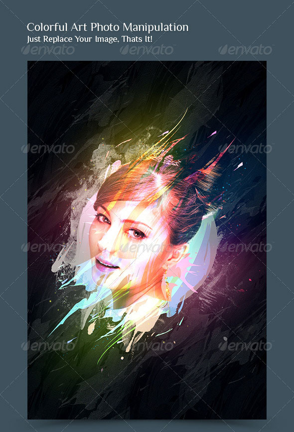 Colorful Art Photo Manipulation