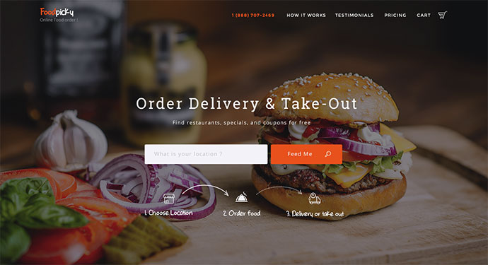 Foodpicky - Online food ordering from local restaurants