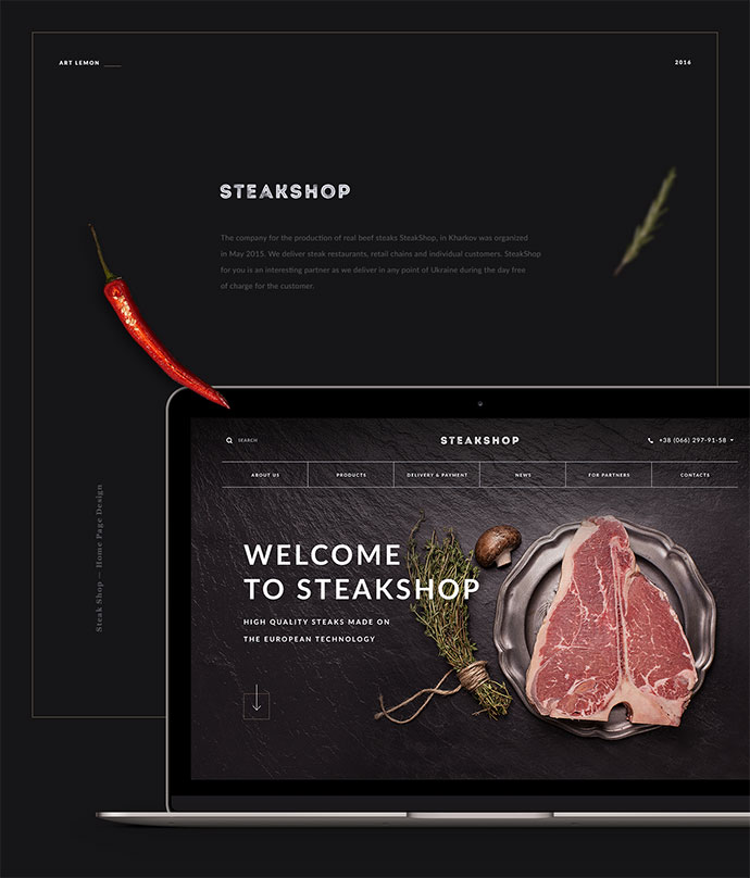 Steak Shop. High Quality Steaks