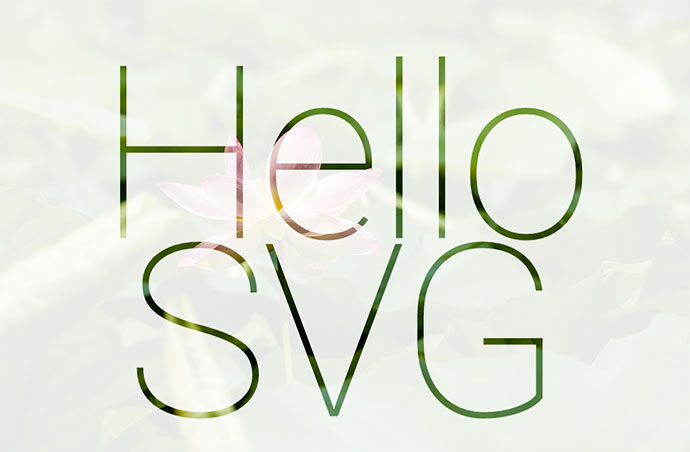 SVG mask + video