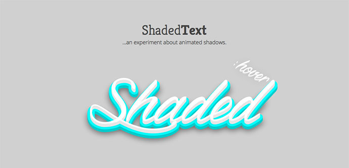 Shaded Text