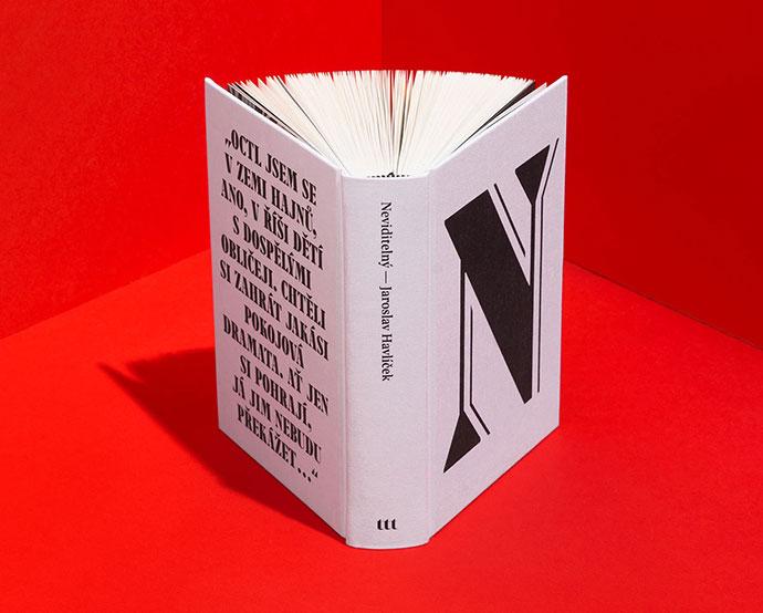 Neviditelný – Book Design