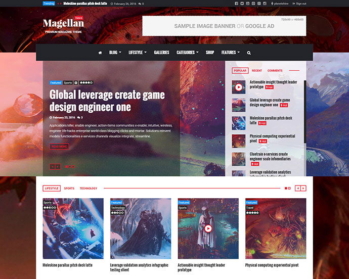 Magellan - Video News & Reviews Magazine