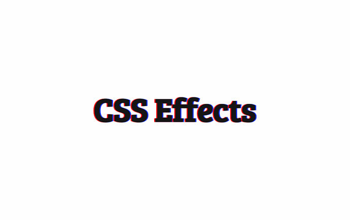 CSS Effects