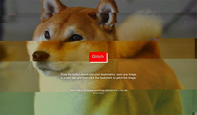 Image Glitch Bookmarklet