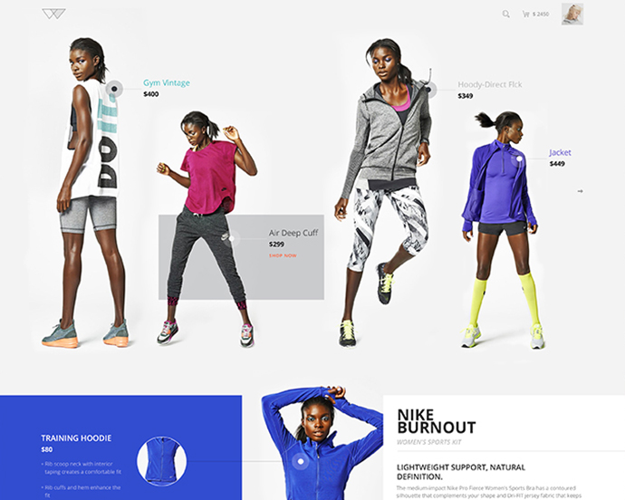 E-commerce Design Concept