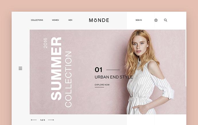 Monde ecommerce Concept
