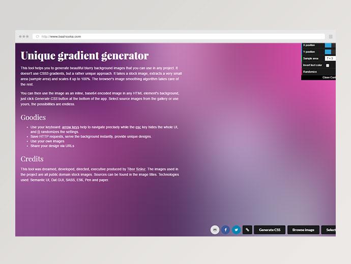 gradient generator