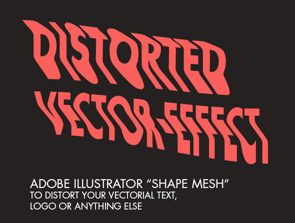 Distorted Vector-Effect