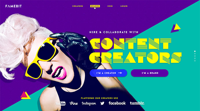 Landing Page and Motion Design