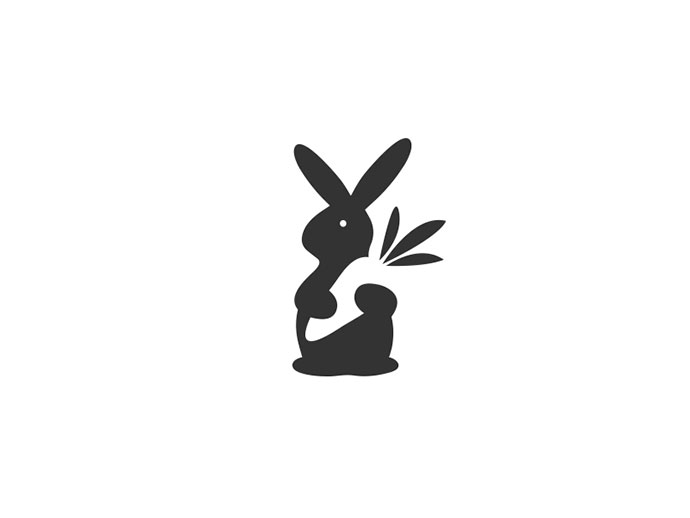 Rabbit Loves Carrot - Logo / mark