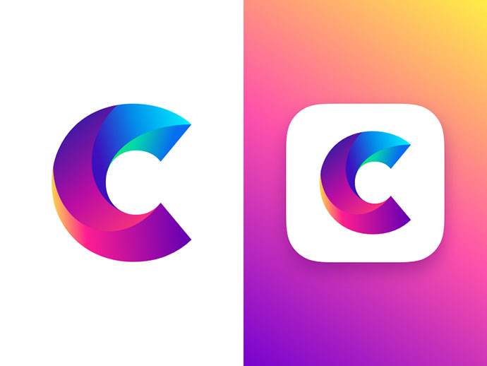 Letter C Concept