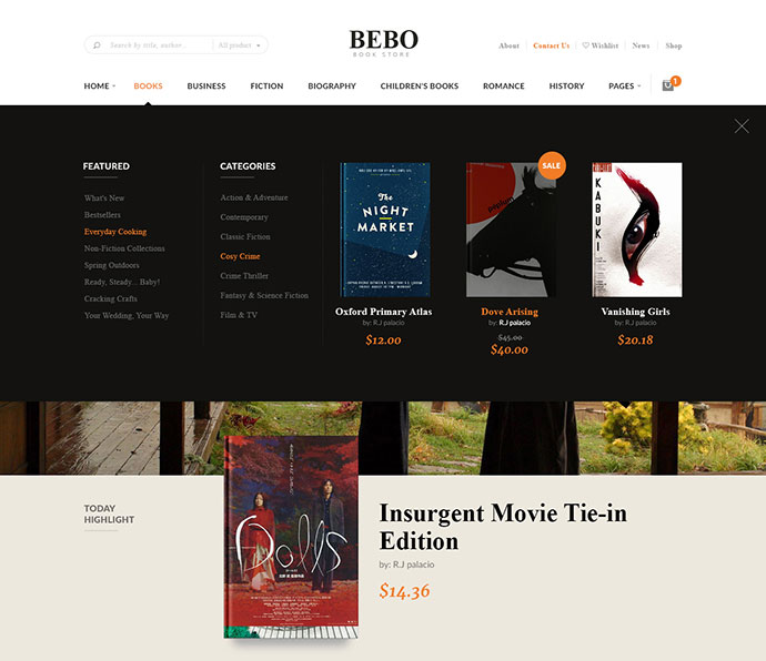 BEBO Book Issue CD/DVD Store Publish Library WP