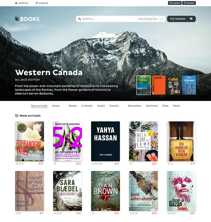 Book Store Concept