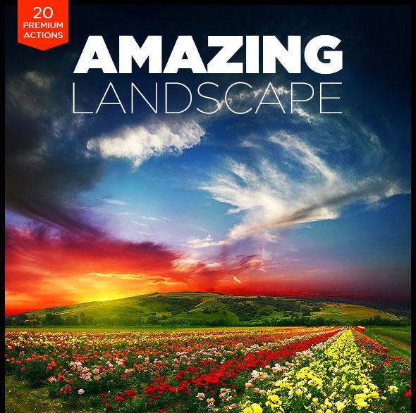 Amazing Landscape Photoshop Actions