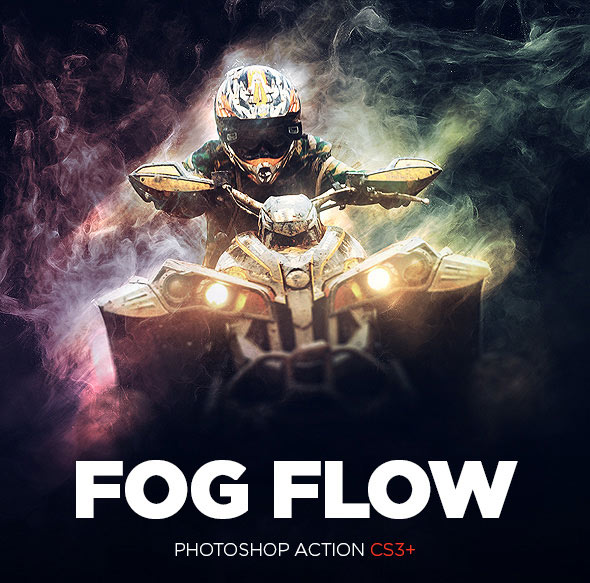 Fog Flow Photoshop Action CS3+