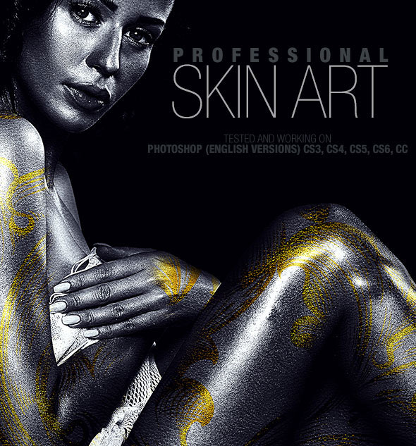 Professional Skin Art Photoshop Action