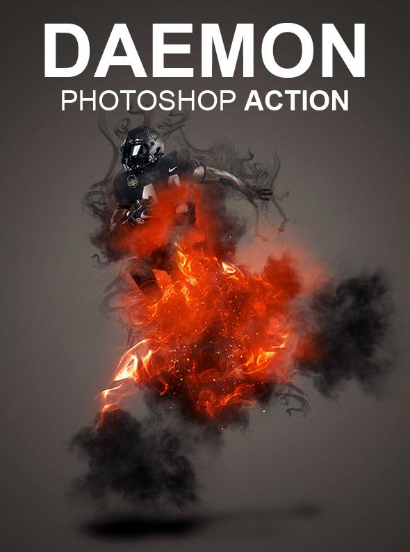Daemon Photoshop Action