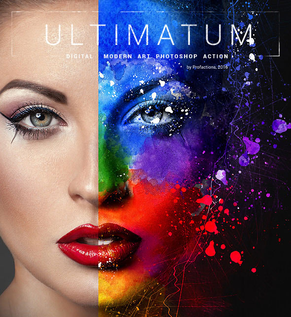 Ultimatum - Digital Art Photoshop Action