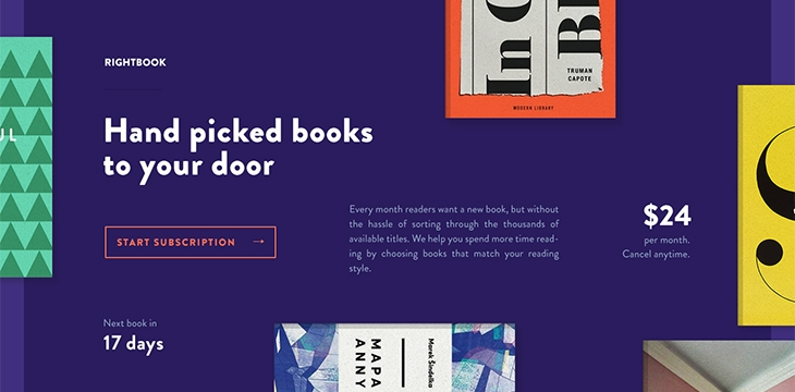40 Fantastic Online Book Store Web Designs