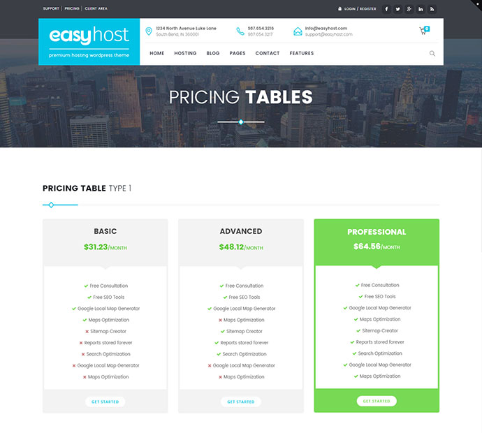 EasyWeb - WP Theme For Hosting, SEO and Web-design Agencies