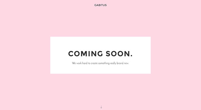 Gabitus - Minimal Coming Soon